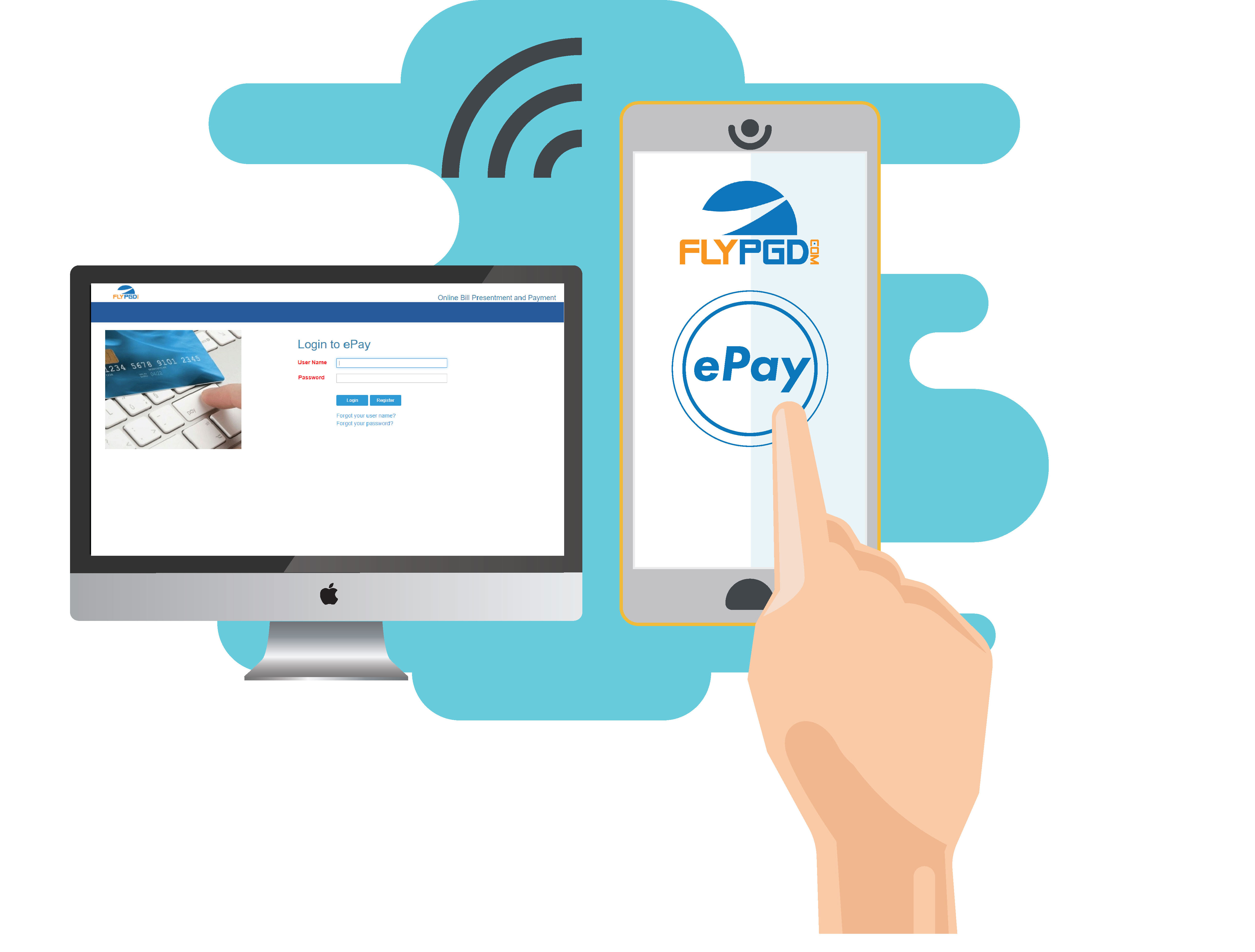 Fly PGD e-pay link