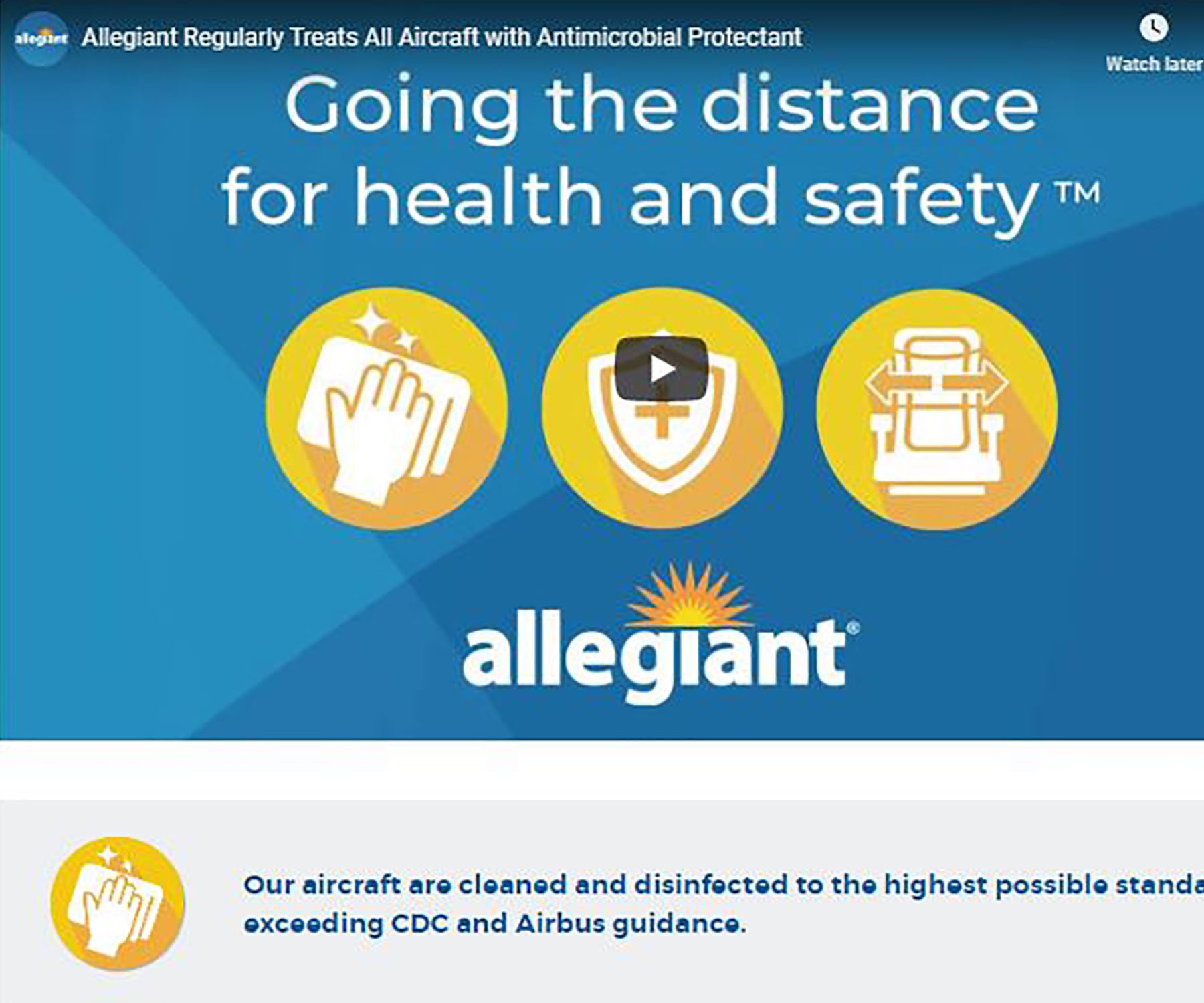 Allegiant going the distance