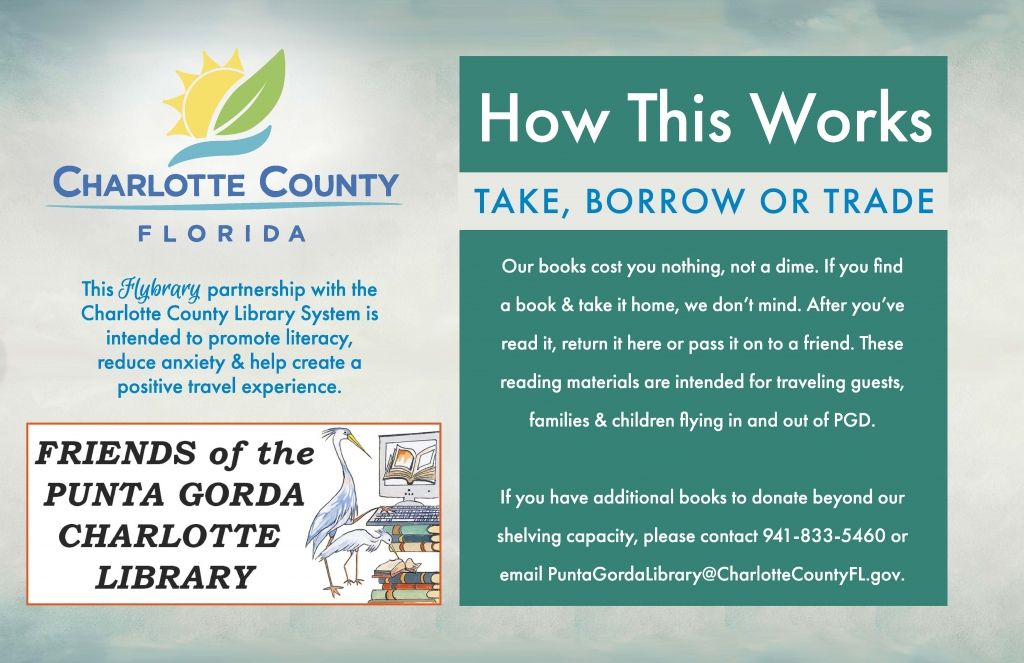 take, borrow, or trade the literature in our flybrary