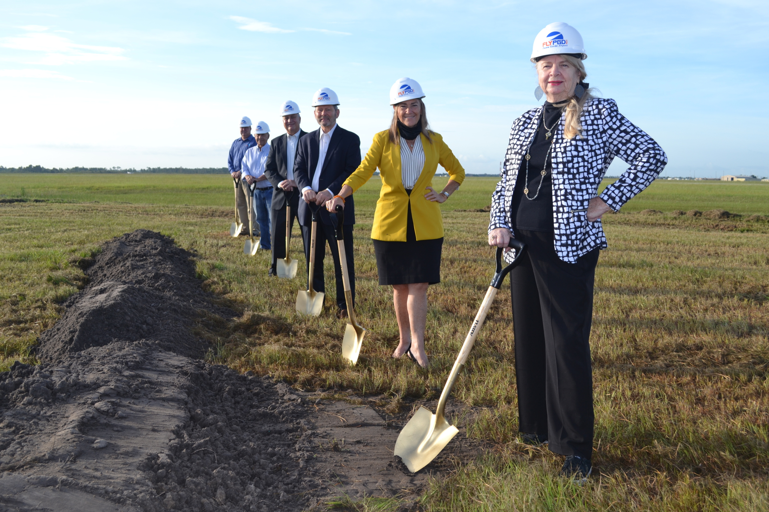 Airport Authority Groundbreaking