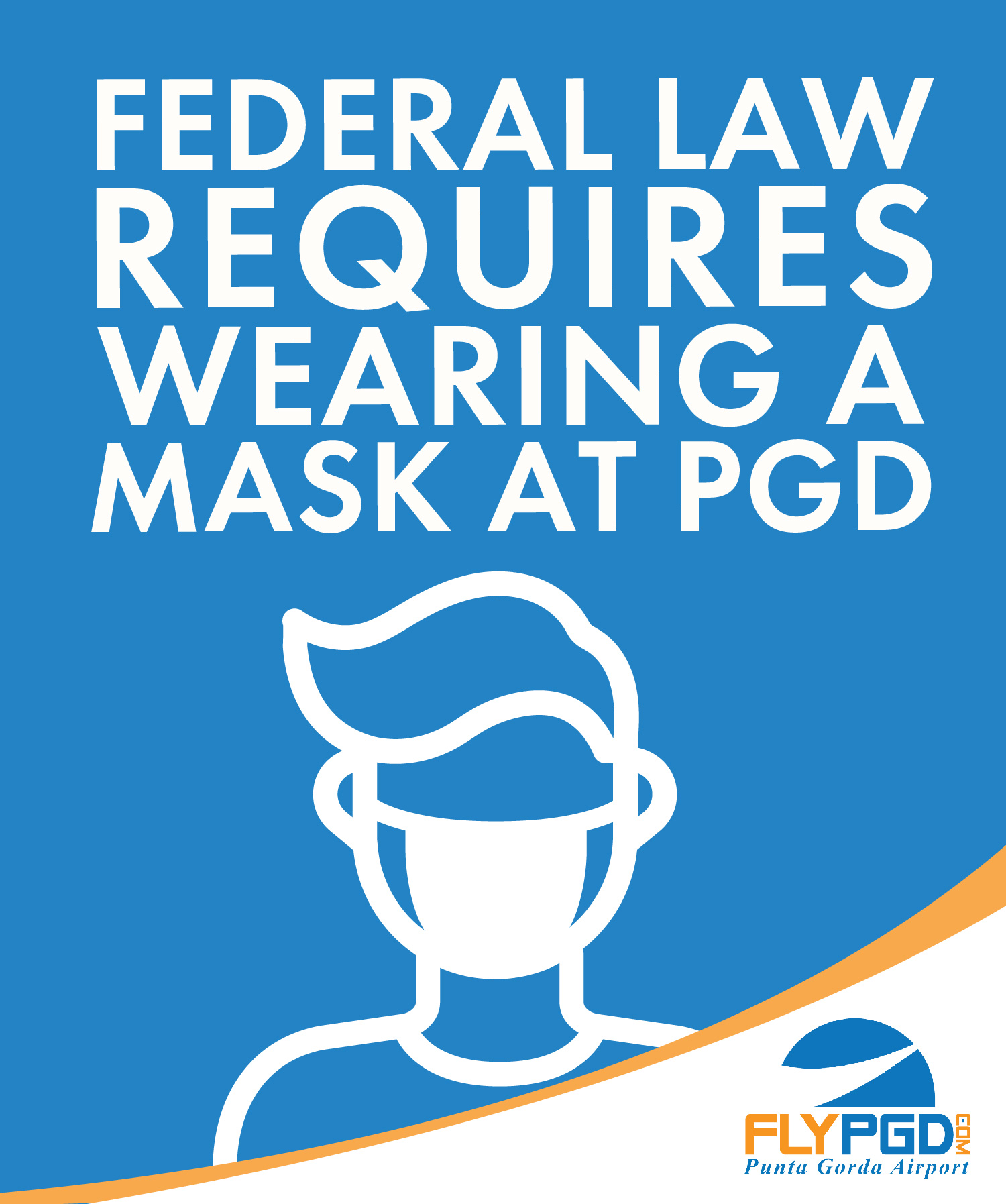 Federal Law requires a mask